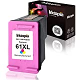 Inktopia Remanufactured Replacement for HP 61XL 61 XL Ink Cartridge, 1 Tricolor, for HP Envy 4500 4502 5530 5534 for HP Deskjet 1000 1050 1512 2540 3050 3510 for HP Officejet 2620 4630 4632 Printer