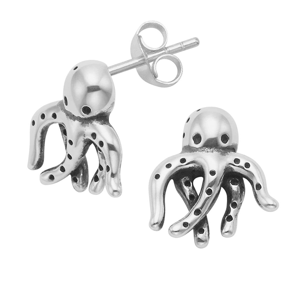 Octopus Stud Earring