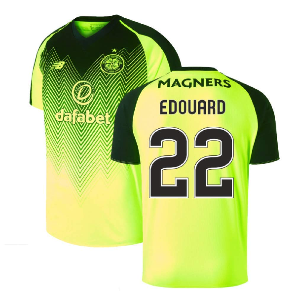 2018-2019 Celtic Third Football Soccer T-Shirt Trikot (Odsonne Edouard 22)