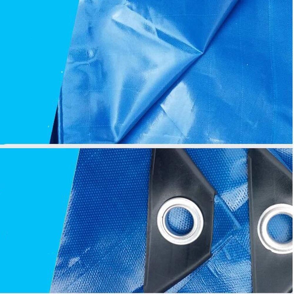 ATR Zeltplanen Plane Blaue Streifen wasserdicht wasserdicht wasserdicht Sonnenschutz Shade Truck Plane 0,4 mm -420g   m \u0026 sup2; für draußen B07Q8SN19X Zeltplanen Neue Sorten werden eingeführt 6b7238