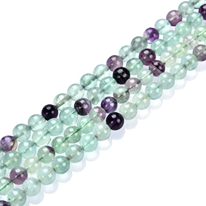 New 10mm Multicolor Fluorite Round Gemstone Loose Beads 15/""