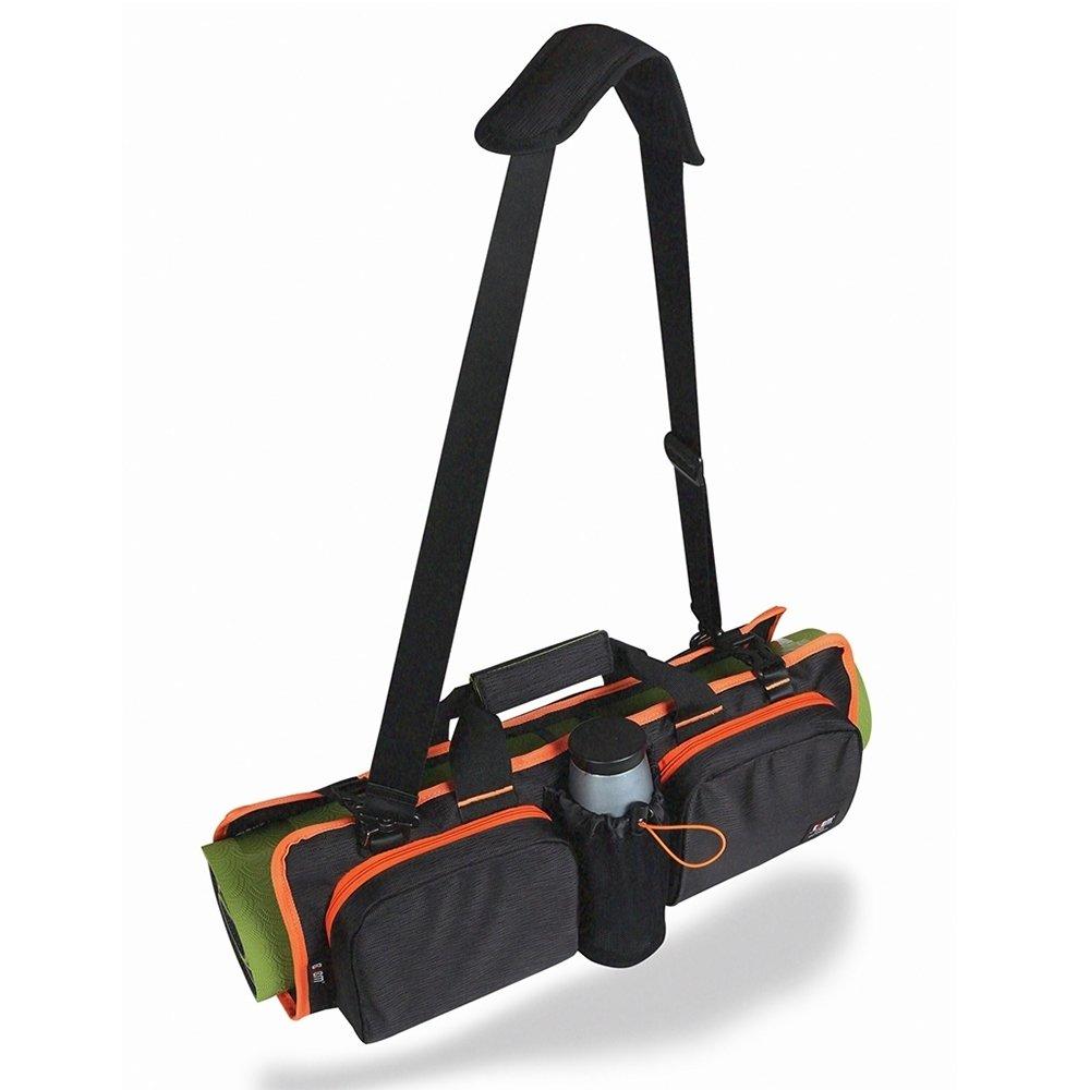 Yoga Matte Tasche verstellbar Übung Schmerzlinderung können geräumiges Innere Wasserfeste Carrier inkl. internen Speicher Design