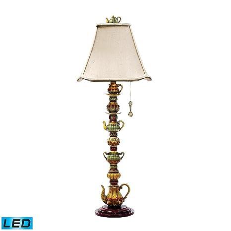 Amazon.com: Lámpara LED de candelabro en acabado Burwell ...