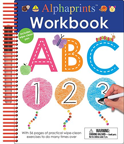 - Alphaprints: Wipe Clean Workbook ABC (Wipe Clean Activity Books)
