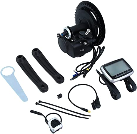 Huldaqueen 36V 250W TONGSHENG VLCD5 TSDZ2 - Kit de Motor Central Medio para Bicicleta eléctrica (Pantalla LCD, Motor de transmisión Media): Amazon.es: Deportes y aire libre