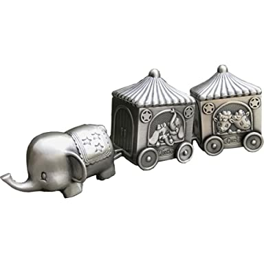 Baby's First Teeth and Curls Keepsake Gift Elephent Cart Romantic Fairy Tales Modali USA : Baby