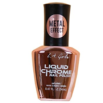 La Girl Chrome Nail Polish Metallic Effect Quick Drying Formula Highly Pigmented