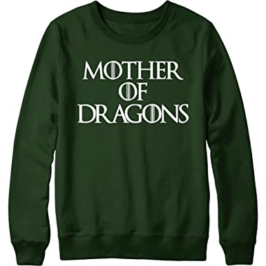 dd0056126a53d3 NuffSaid Mother of Dragons Sweatshirt GOT Sweater Pullover - Unisex - Many  Colors and Sizes S