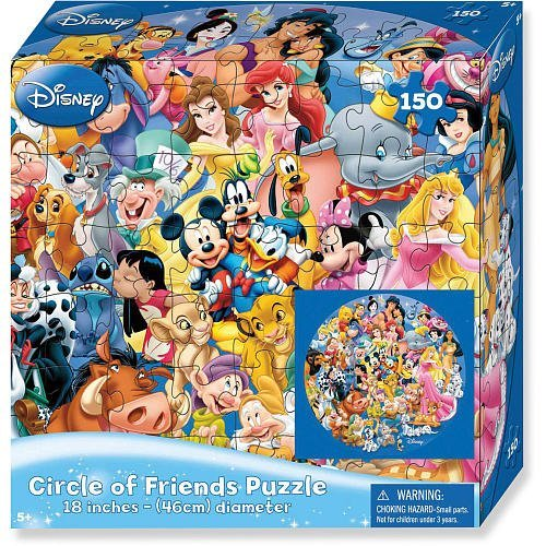 Lenticular Circle of Friends Puzzle, 150 piece by Disney