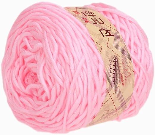 Hilo de algodón de leche hilo grueso 0206 tejer bufanda patio ...