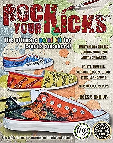Amazon.com: Rock Your Kicks DIY Paint Kit