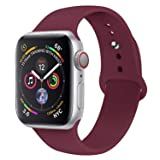Silicone Band Compatible with Apple Watch 38mm 40mm