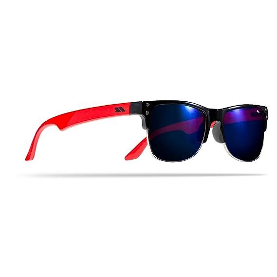 c4e2b1e361b4 Trespass Childrens Esteban Sunglasses (One Size) (Black/Red): Amazon ...