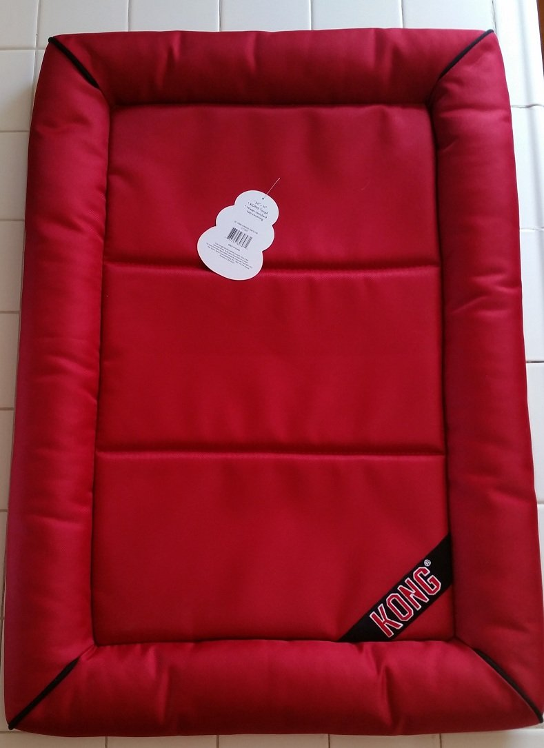 "30"" x 21"" KONG Tough Crate Pad Red"