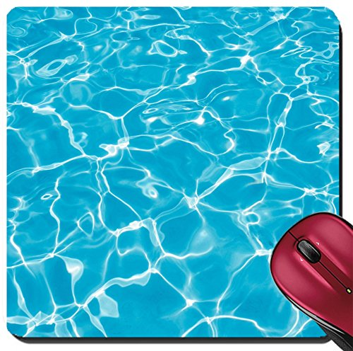 3155d80845dd Liili Suqare Mousepad 8x8 Inch Mouse Pads Mat Swimming Pool Photo 644772