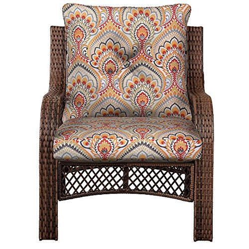 Outdoor Patio Deep Seat Chair Cushion Set Seasonal Replac...