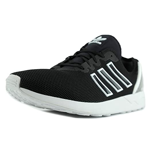 adidas zx flusso uomini noi neri scarpe moda scarpe