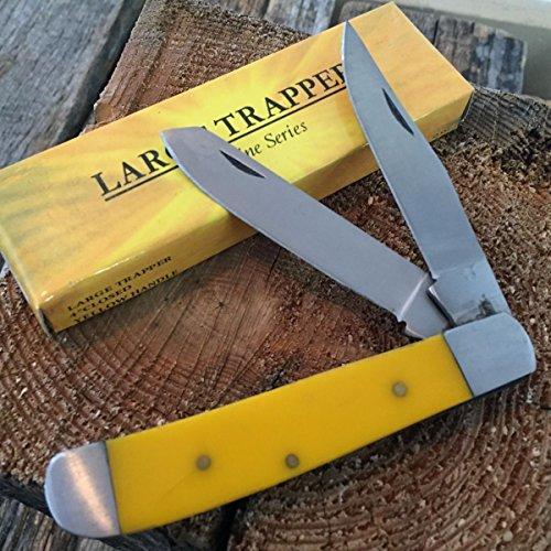 SUNSHINE SERIES G'STORE LARGE TRAPPER Pocket Knife 4