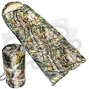 New Carp Fishing And Camping Light Weight Realtree Camo Sleeping Bag NGT by NGT