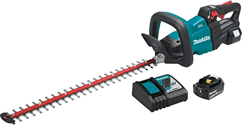 Makita XHU07T 18V LXT Lithium-Ion Brushless Cordless 24 Hedge Trimmer Kit 5.0Ah ,Teal