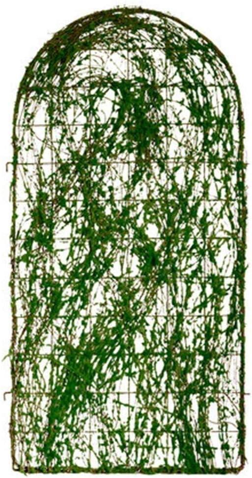 J-Vallas La Cerca del Jardín Enrejado del Jardín De Plantas Trepadoras, Panel De Pared De Metal De Hierro Forjado Al Aire Libre For La Vid, Rosas, Tomates, Y Más, Decorativo Vertical Jardinería: