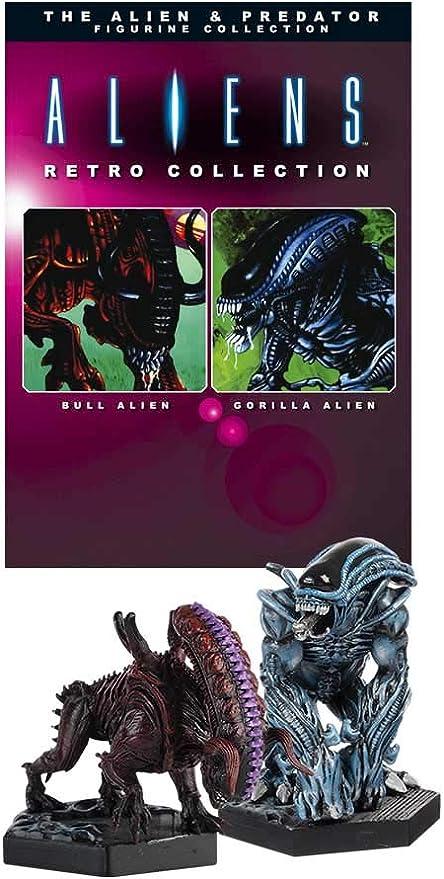 Aliens Retro Collection Figure 2-Pack Gorilla Alien & Bull Alien ...