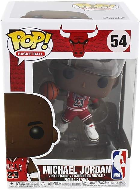 Amazon Com Michael Jordan Chicago Bulls 54 Nba Funko Pop Sports Collectibles