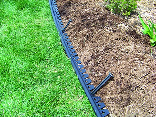 Valley View EDG-20GMC EDG-20 Easy Diamond Ground Lawn Edging, 20', Black by Valley View (Image #1)