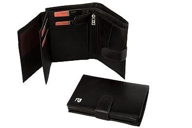 1ac41f63e6a77 Portemonnaie herren vertikal PIERRE CARDIN moro leder mit öffnung knopf  A4916