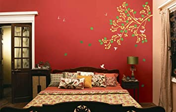 Buy Asian Paints Royale Play Wall Fashion Spring Diaries Stencil