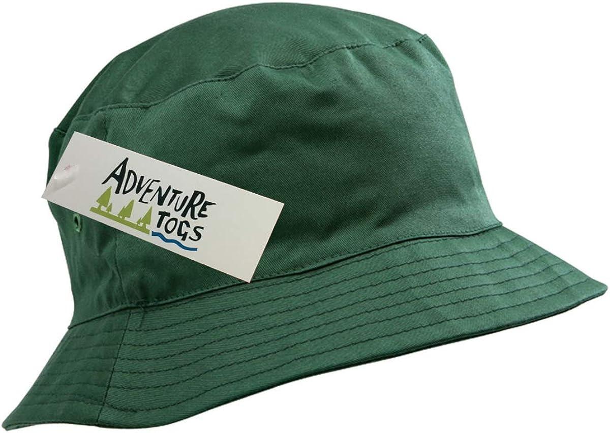 Summer Sun Protection Outdoors Holidays School Kids Cotton Bucket Sun Hat