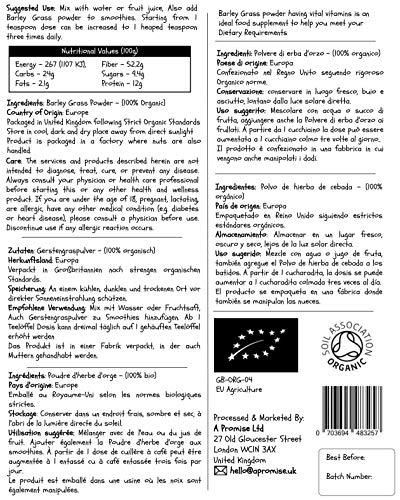 Hierba De Cebada Cruda En Polvo/Barley Grass, EU, Certificado 100 ...