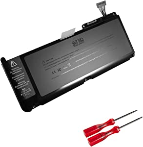 GWY-TECH New Laptop Battery for MacBook 13 Inch A1331 A1342 [Late 2009 Mid 2010 Version] MC233LL/A MC234LL/A MC375LL/A MC516LL/A MC207LL/A 661-5391 020-6580-A 020-6582-A [10.95V 63.5Wh]