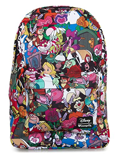 Loungefly Disney Alice In Wonderland Characters All Over Print Backpack -  Alice-in-Wonderland.net shop a62eb919891f4