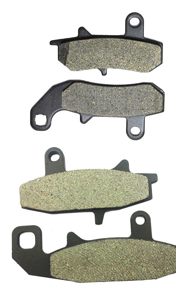 Semi-met Bremsbelage Set fit Street Bike DR650 DR 650 cc 650cc RS RSE SP43B F753 90 91 92 93 94 95 1990 1991 1992 1993 1994 1995 4 Pads