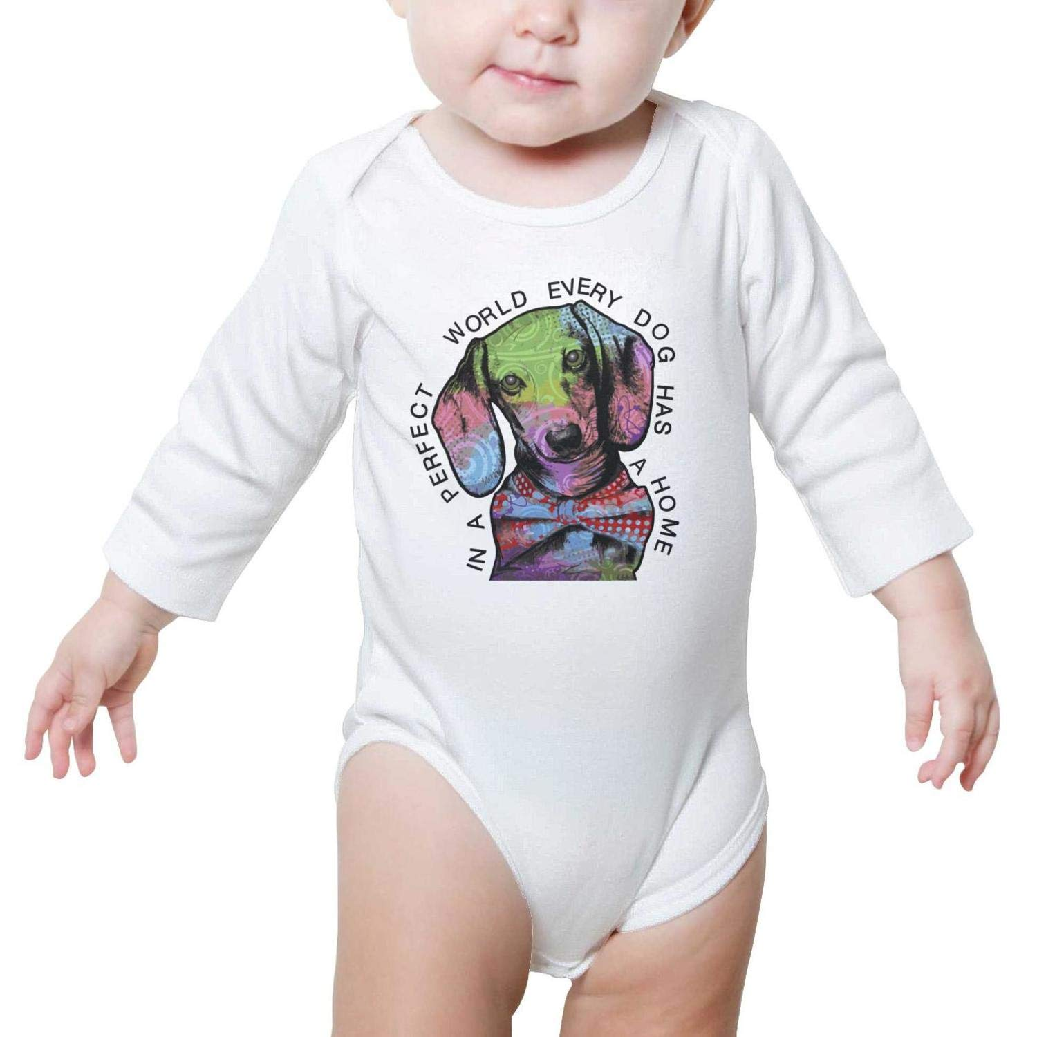 My Grandchild is a Dog Baby Boys Girls Fashion Baby Onesies SHUOCDAH Let Me Get This Straight