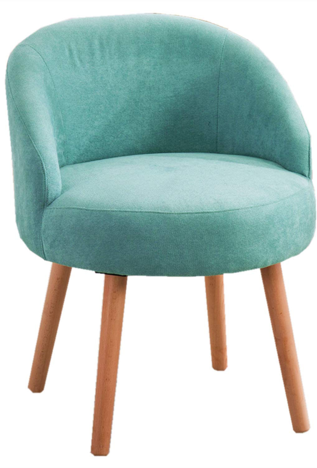 Modern Candy Blue Leisure Arm Chairs Single Couch Seat Home Garden Living Dining Room Furniture Sofa with Solid Wood Legs by DUSTIN'S