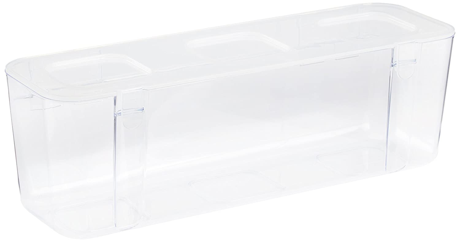 Deflecto 29301CR Large Storage Container - Clear