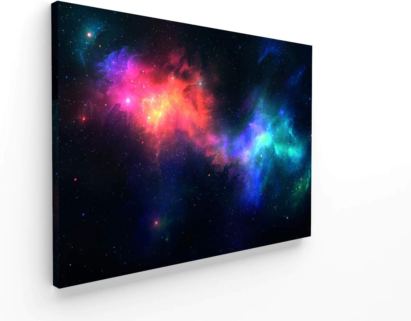 Panorama Poster N/ébuleuse 30x21cm D/écoration Murale Affiche Noir et Blanc Imprim/ée sur Poster de Haute qualit/é de 250gr Espace Affiche Tableau Poster Galaxie