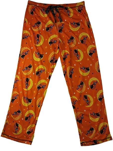 Amazon.com: Pantalones de pijamas para mujer, color negro ...