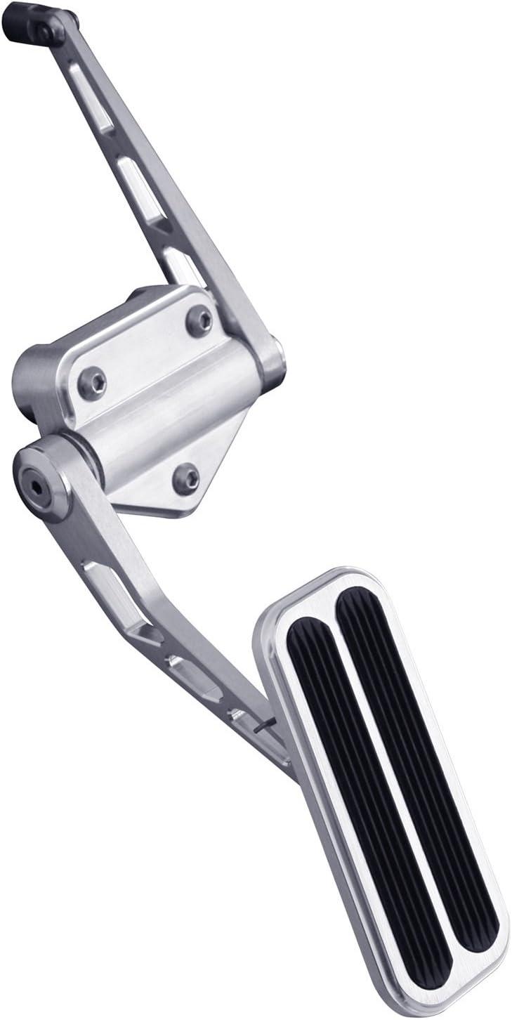Lokar BAG-6165 Billet Aluminum Throttle Pedal with Rubber for Chevy//GMC C-10