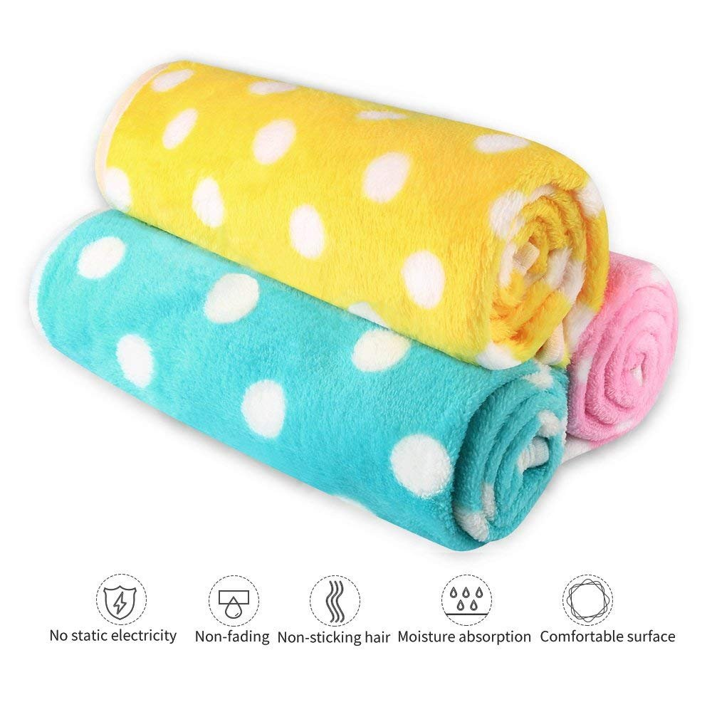 Pet Dog Blanket - Cat Puppy Blanket Soft Warm Sleep Mat Couch,Car, Bed - Dog Cat Other Small Animals (Pet Blanket) by BAODATUI (Image #2)