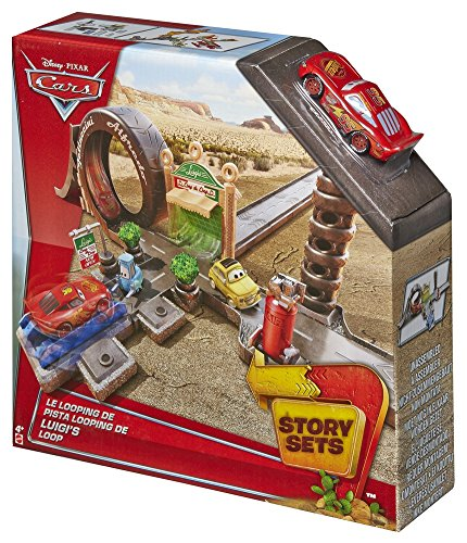 - Disney Pixar Cars Radiator Springs Luigi's Casa Della Tires Shop Playset