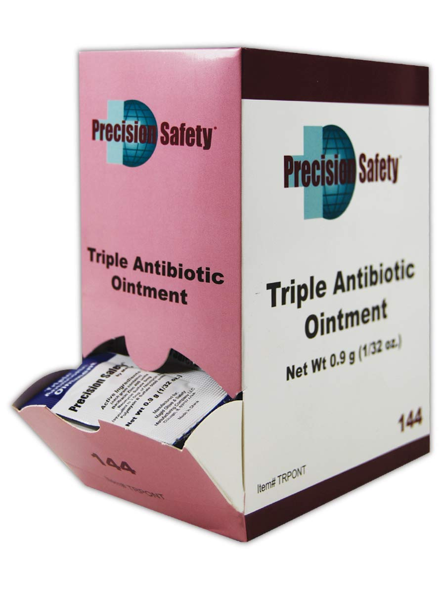Magid Precision Safety 0.9 gm Dose Triple Antibiotic Ointment (144/Box)