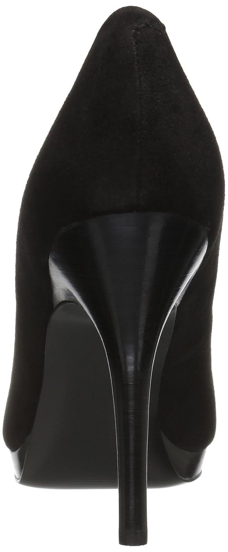 Nine West Women's Kristal Suede Dress Pump B01N2PK8P1 12 B(M) US|Black