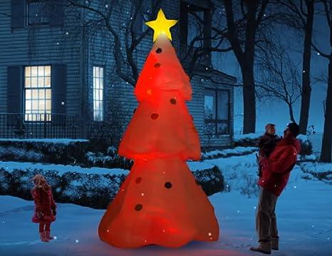 Amazon.com: Gigante Hinchable cambia de color árbol de ...