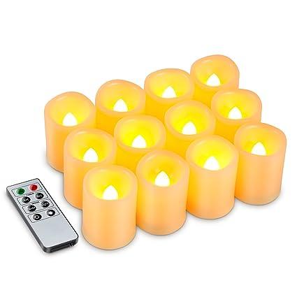 Flameless Votive Candles Interesting Amazon Kohree Set Of 60 Flameless Votive Candles Pillar LED
