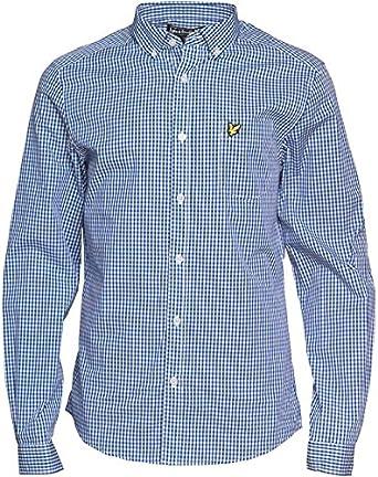 Designer ME - Camisa de vestir - para hombre Blanco azul M en ...