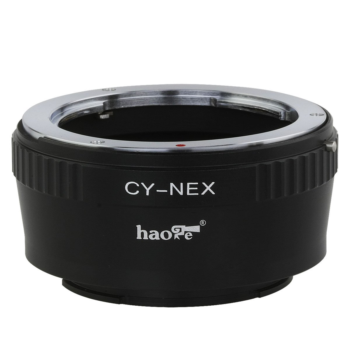 NEX-C3 a6500 a6300 NEX-5N a5000 NEX-5 a3000 NEX-7N NEX-F3 Haoge Lens Mount Adapter for Contax Yashica C//Y CY Mount Lens to Sony E mount NEX Camera as NEX-3 VG20 NEX-7 a3500 a6000 NEX-VG10