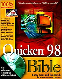 Book Quicken 98 Bible (Bible (Wiley))